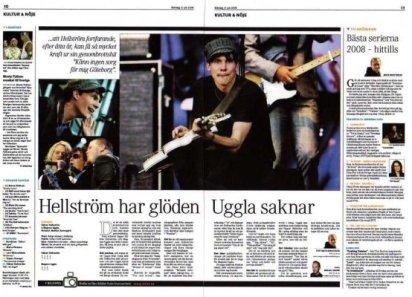 Motala Tidning den 21 juli.