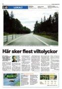 Motala Tidning den 7 augusti 2008.