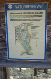 Sevärt naturreservat vid Hidinge kyrka.