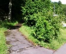Uppfart från Sockertoppsvägen