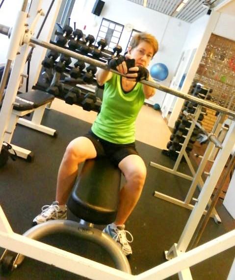 Första gympasset 2014