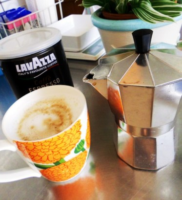 Fett kaffe