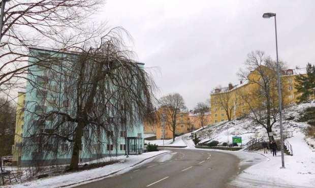 Infart till Tureborg 2015-02-01