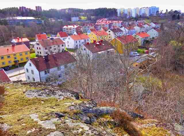 2015-04-03 Utsikt mot Göteborgsvägen