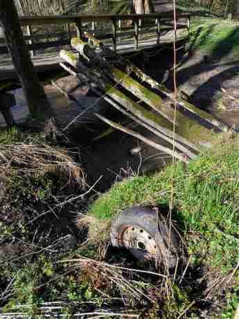 Däcket vid bron 2015-04-13