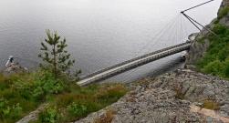 Boardwalk bridge
