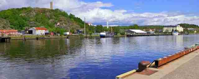 Byfjorden in mot centrum.