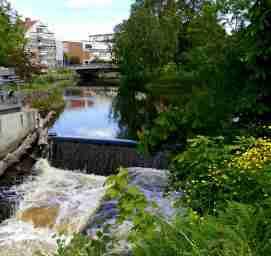 Här görs vattenkraft till Uddevallaborna.
