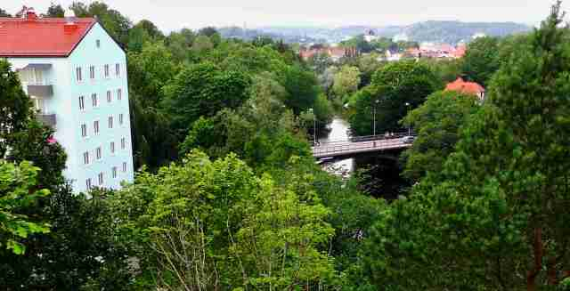 Utsikt mot Tureborgsbron