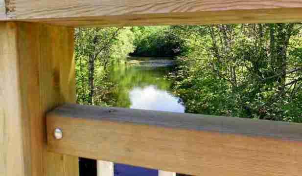 Bäveån vid Äsperödsbron