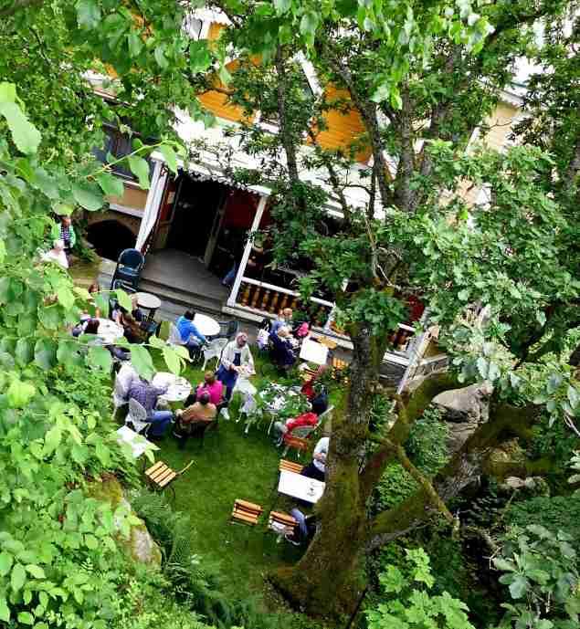 Musik på verandan