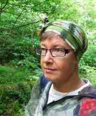 Selfie i blåbärsskogen