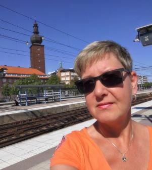 På återbesök i Västerås, 2017.